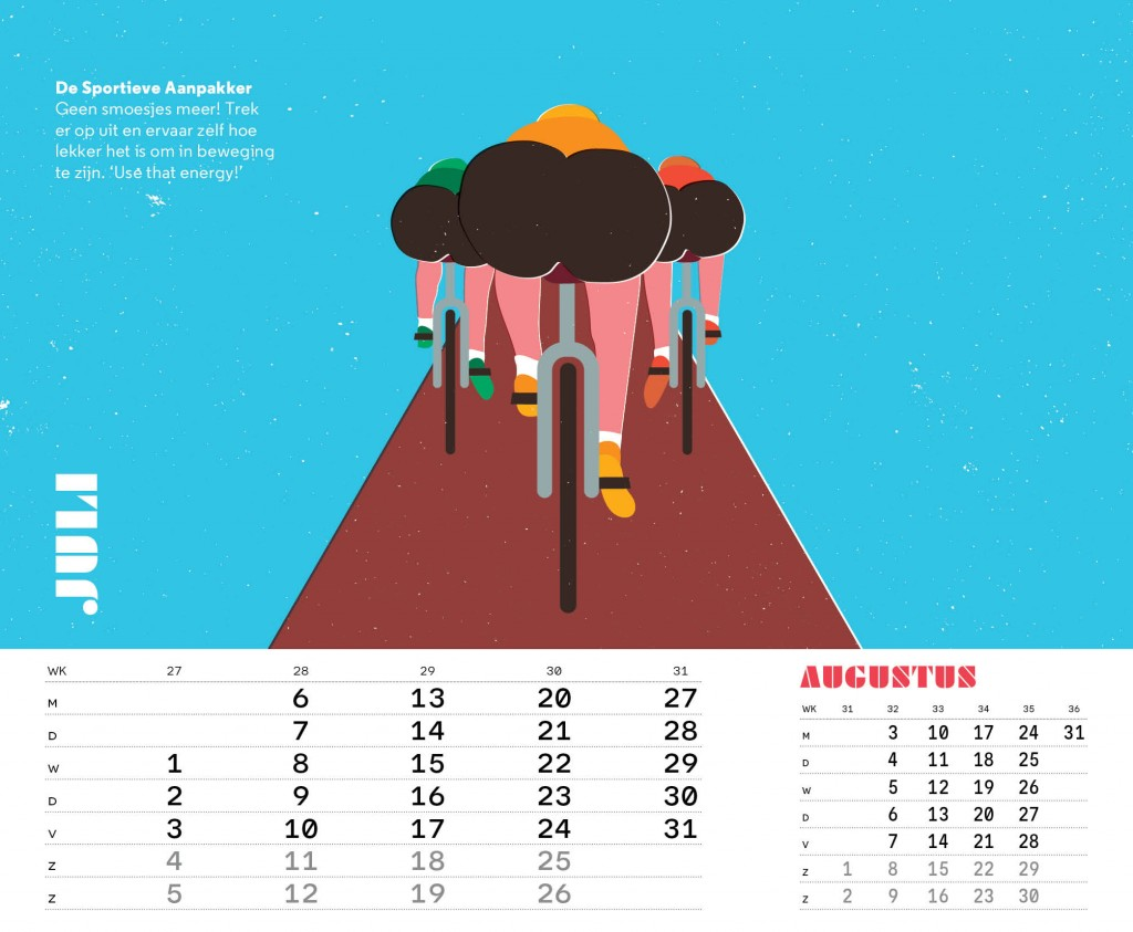 Aanpak Kalender